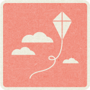 Picnic Day_Pictogram Chip_Pink_Kite