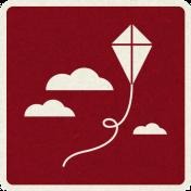 Picnic Day_Pictogram Chip_Red Dark_Kite