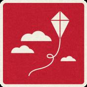 Picnic Day_Pictogram Chip_Red Light_Kite