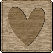 Picnic Day_Pictogram Chip_Wood_Heart