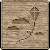 Picnic Day_Pictogram Chip_Wood_Kite