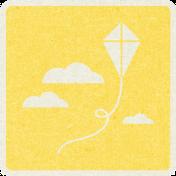 Picnic Day_Pictogram Chip_Yellow_Kite