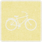 Picnic Day_Pictogram Chip_Yellow Light_Bicycle