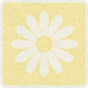 Picnic Day_Pictogram Chip_Yellow Light_Flower