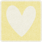 Picnic Day_Pictogram Chip_Yellow Light_Heart