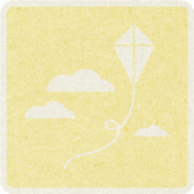 Picnic Day_Pictogram Chip_Yellow Light_Kite