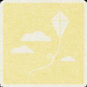 Picnic Day_Pictogram Chip_Yellow Light_Kite