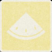 Picnic Day_Pictogram Chip_Yellow Light_Melon