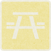 Picnic Day_Pictogram Chip_Yellow Light_Picnic Table
