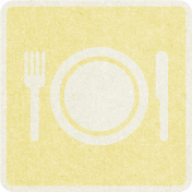 Picnic Day_Pictogram Chip_Yellow Light_Plate