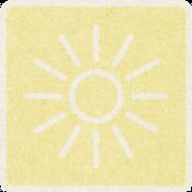 Picnic Day_Pictogram Chip_Yellow Light_Sun