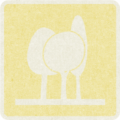 Picnic Day_Pictogram Chip_Yellow Light_Trees