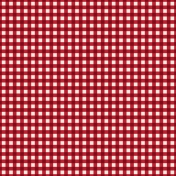 Picnic Day_Paper_Plaid_Red Dark