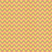 Picnic Day_Paper_Melon Slices_Yellow