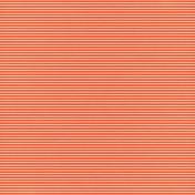 Raindrops & Rainbows- Paper Lines Orange Dark