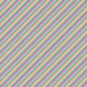 The Good Life: June- Paper Stripes Multi