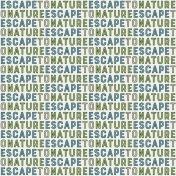 Nature Escape- Paper Text Escape- UnTextured