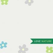 Nature Escape- JC Love Nature 3x3- UnTextured