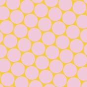 Crazy In Love- Paper Circles Pink- UnTextured