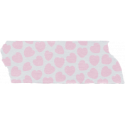 Crazy In Love- Tape Hearts Pink