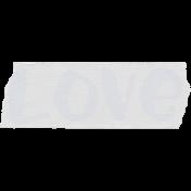 Crazy In Love- Tape Love Blue