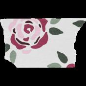 Crazy In Love- Tape Roses White