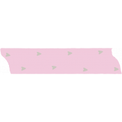Crazy In Love- Tape Arrows Pink- UnTextured