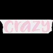 Crazy In Love- Tape Crazy Pink- UnTextured