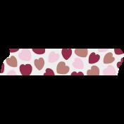 Crazy In Love- Tape Hearts Multi 1- UnTextured