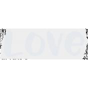 Crazy In Love- Tape Love Blue- UnTextured