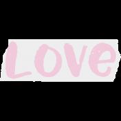 Crazy In Love- Tape Love Pink- UnTextured