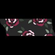 Crazy In Love- Tape Roses Black- UnTextured