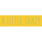 Crazy In Love- Tag Little- UnTextured