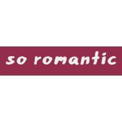 Crazy In Love- Tag Romantic- UnTextured