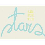 Dream Big - Journal Card - Stars