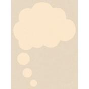 Dream Big- Journal Card- Think Cloud