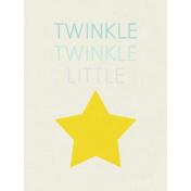 Dream Big- Journal Card- Twinkle