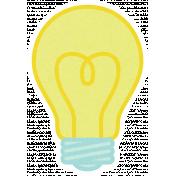 Dream Big-Sticker-Light Bulb