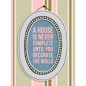 Our House-Journal Card 11