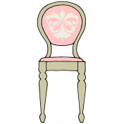 Our House-Sticker-Chair