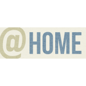 Our House-Tag-@ Home