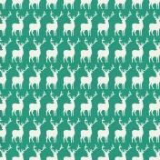 Winter Wonderland Christmas- Paper- Deer