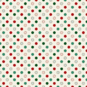 Winter Wonderland Christmas- Paper Dots Glitter