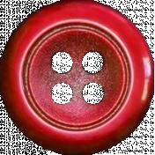 Winter Wonderland Christmas- Button Red