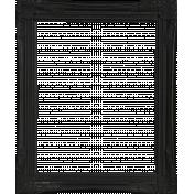 Winter Wonderland Christmas- Frame Black