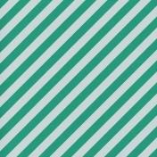 Winter Wonderland Christmas- Paper Stripes Green