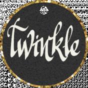 Winter Wonderland Christmas- Tag Twinkle