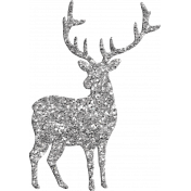 Winter Wonderland Snow- Deer Glitter