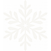 Winter Wonderland Snow- Vellum Snowflake1
