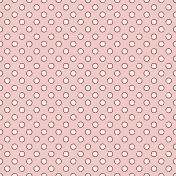 Winter Wonderland Snow- Paper Pink Glitter Dots